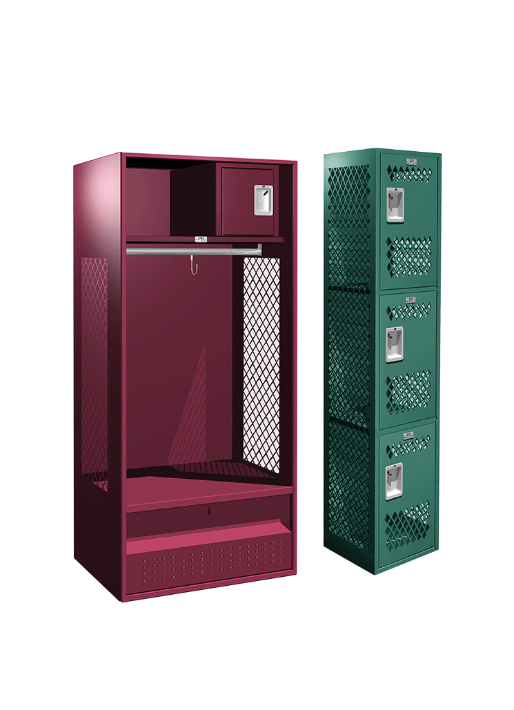 All Welded Collection Lockers