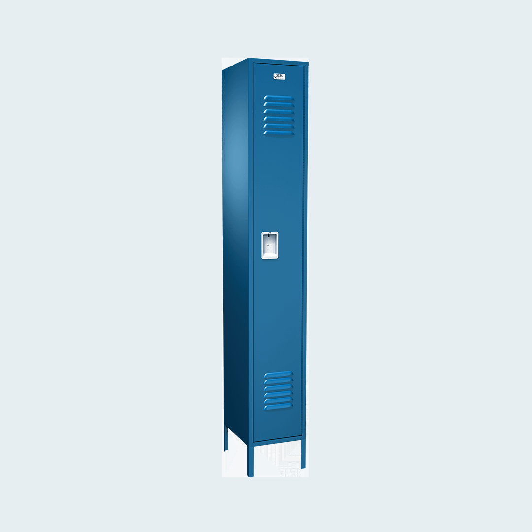 Traditional Metal Locker Single Tier