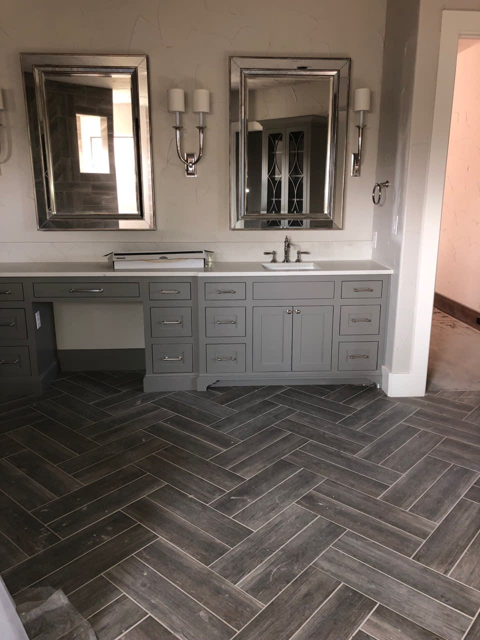 multi-toned floor