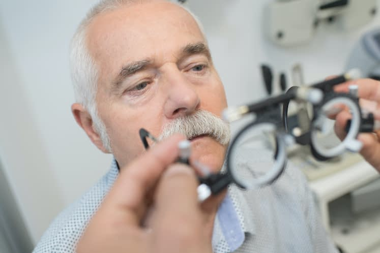 Distance vision impairment independently associated with accelerated rate of memory decline