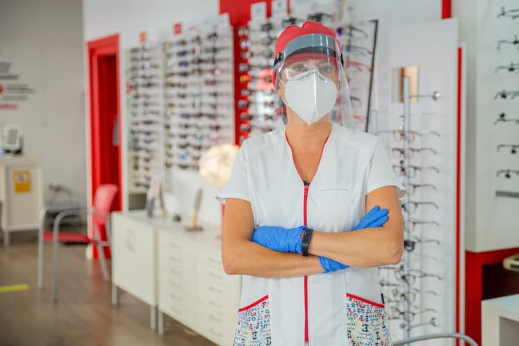 Mental health of eye care professionals impacted by COVID-19