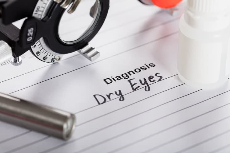 ALG-1007 topical eye drop meets primary, secondary endpoints for dry eye disease