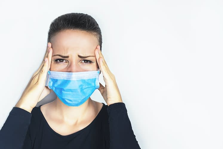 Women suffer most from mask-associated dry eye found
