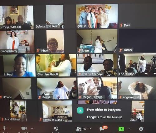 northwestern virtual pinning ceremony for nursing students