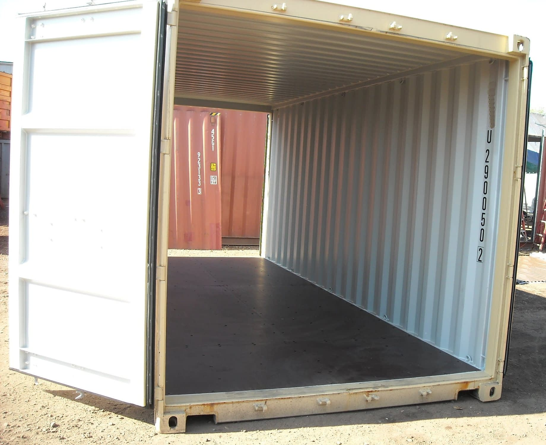TRS Containers sells new one-trip steel double door containers. Also offer used fabricated versions
