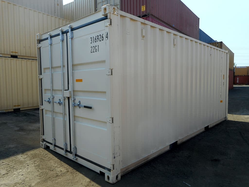 TRS Containers sells and fabricates new and used 20 foot long doubledoor containers