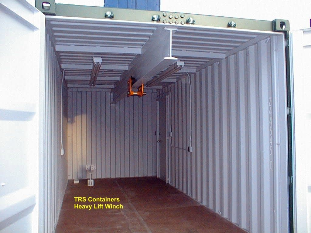 TRS Containers performs expert modifications on new and used ISO steel containers