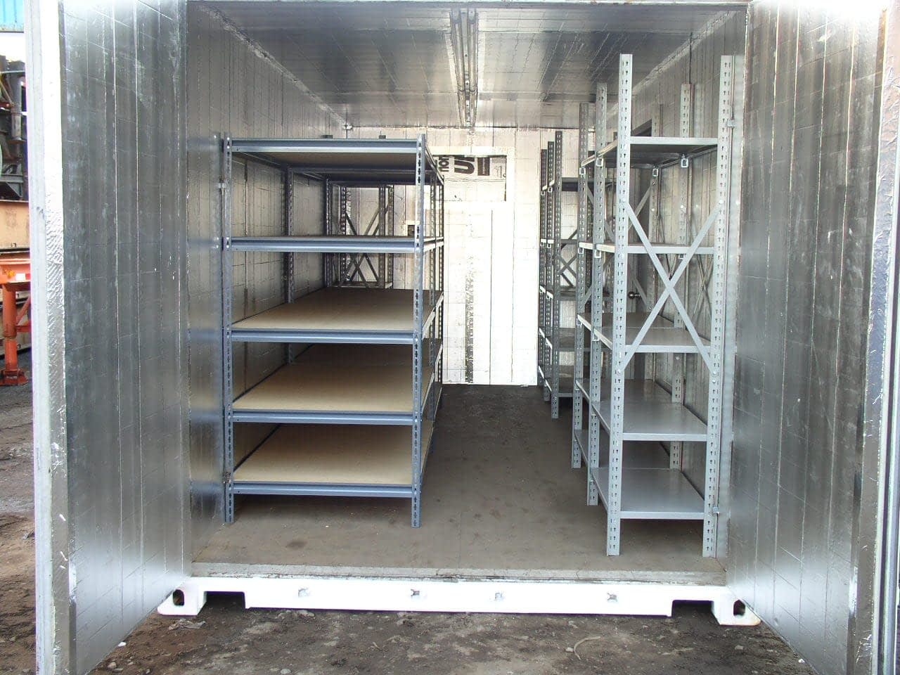 TRS offers climate controlled container options