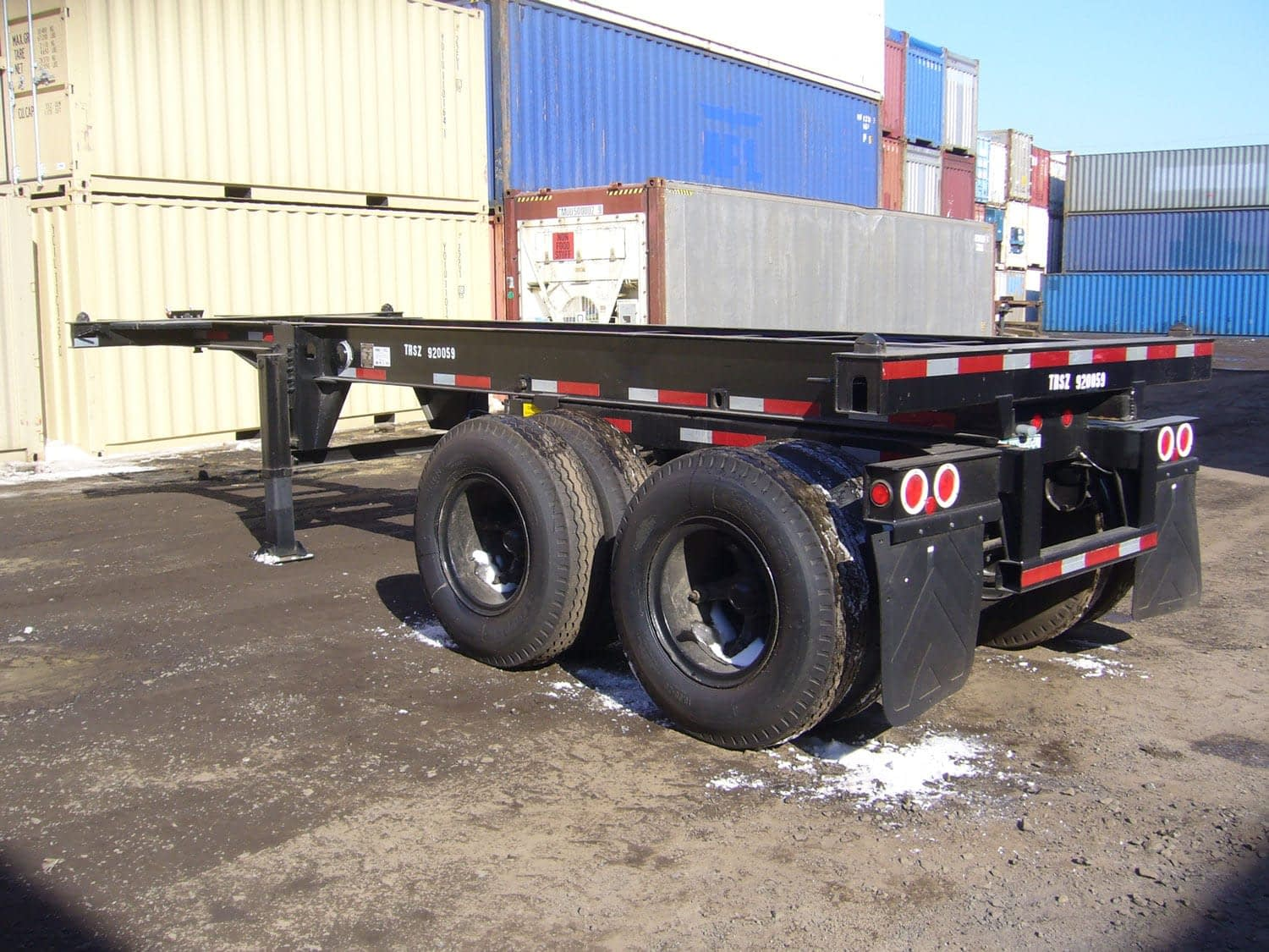 TRS sells and rents intermodal containers and chassis Nationwide