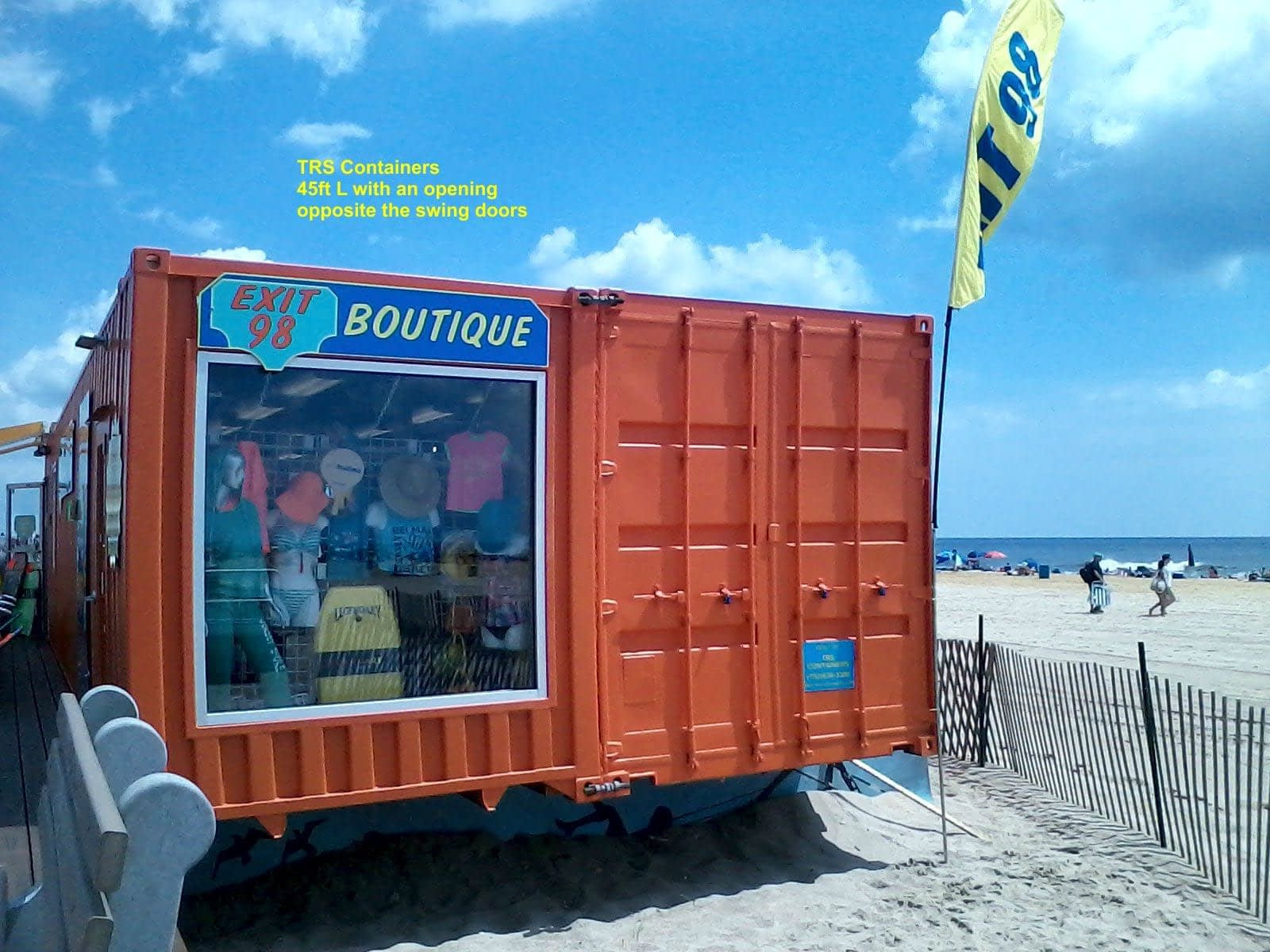 TRS Containers can build container homes, stores, restaurants and bars