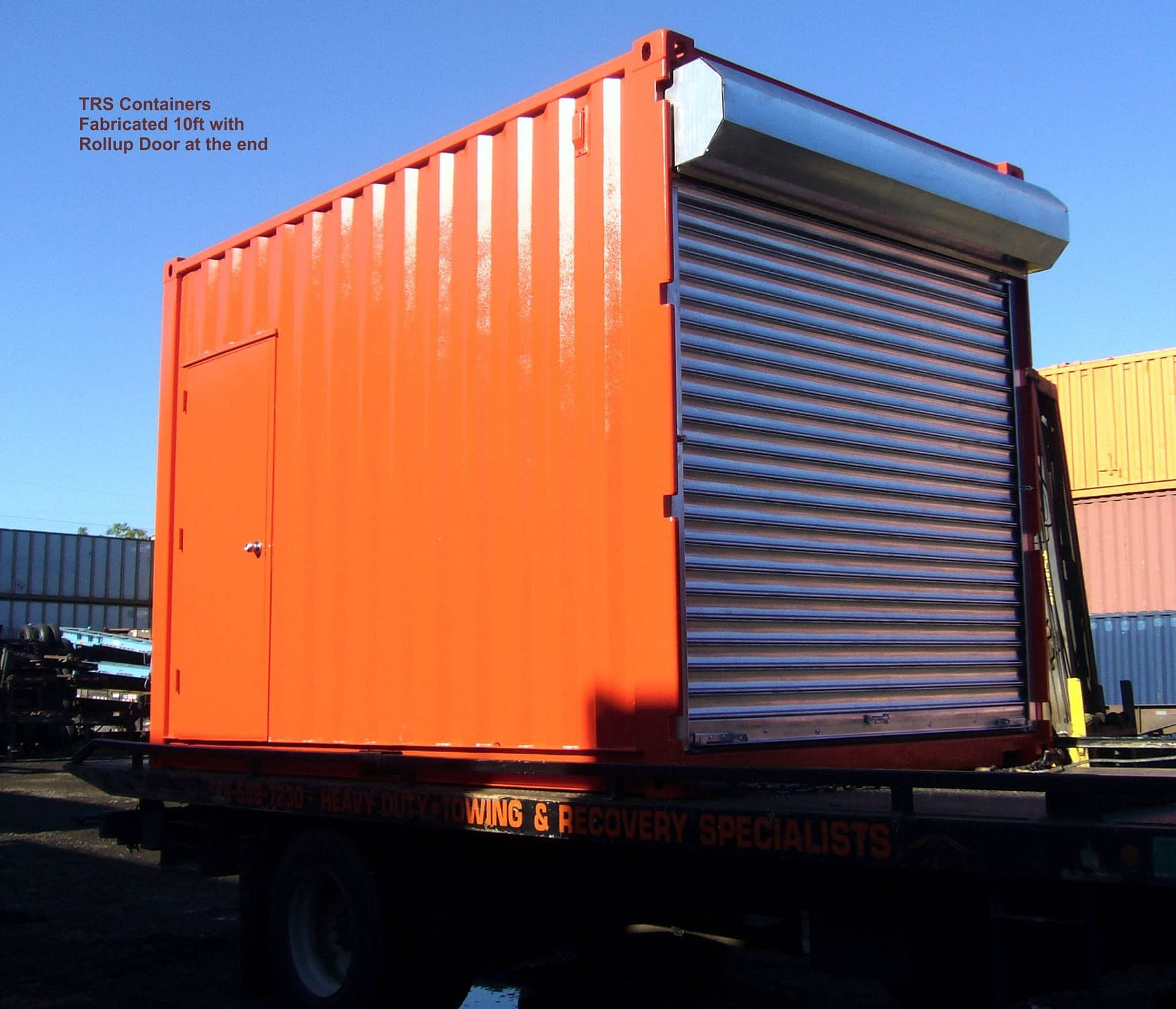 TRS Containers builds portable container workshops and welding stations