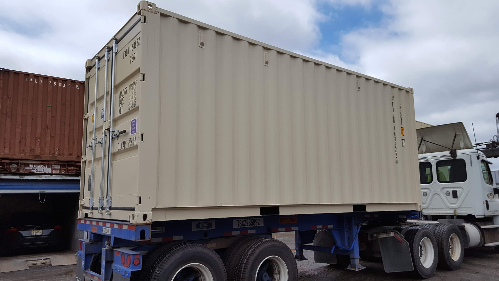 TRS full service depot sells rents modifies transports containers and chassis