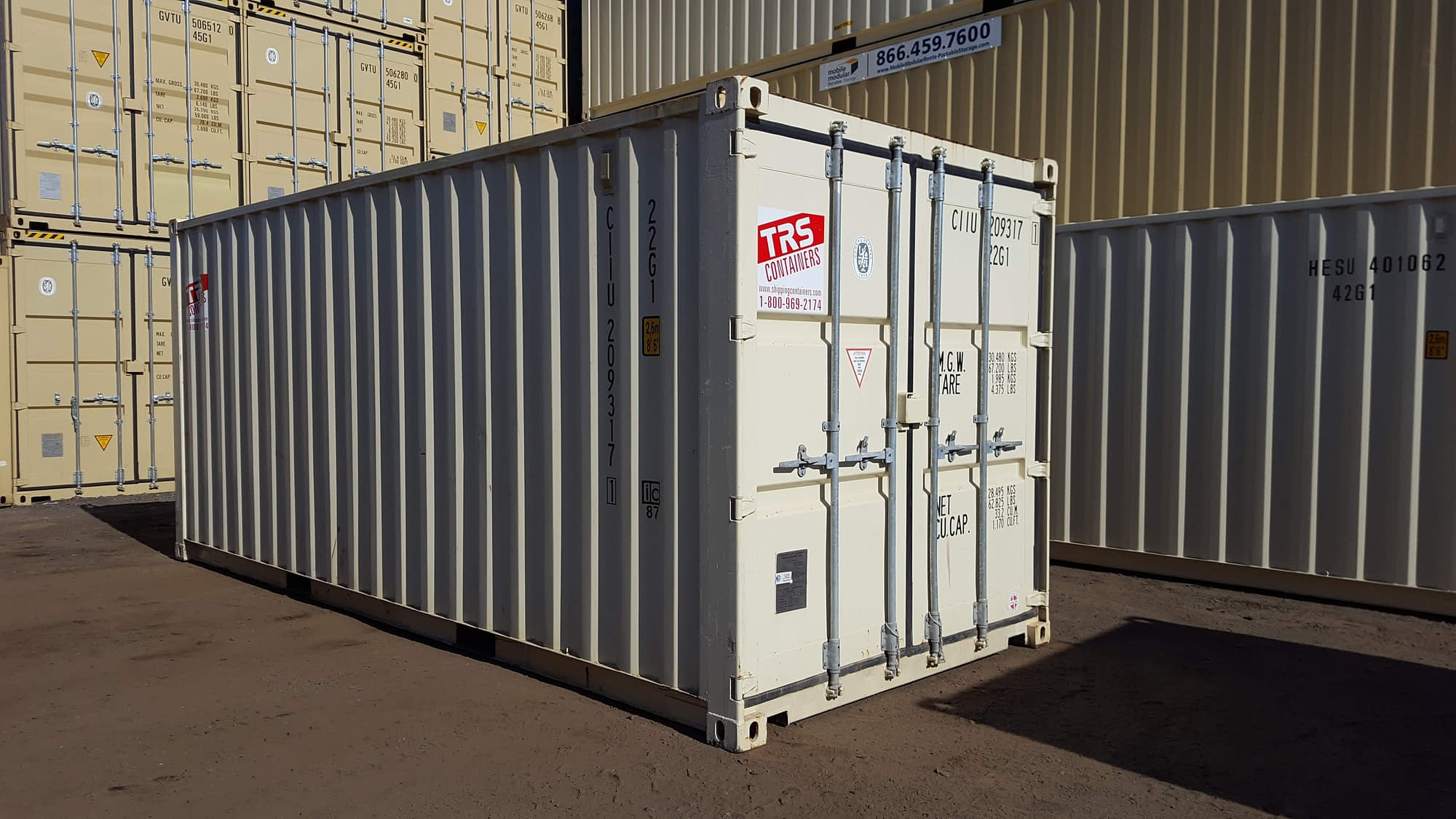 TRS new containers come in many colors