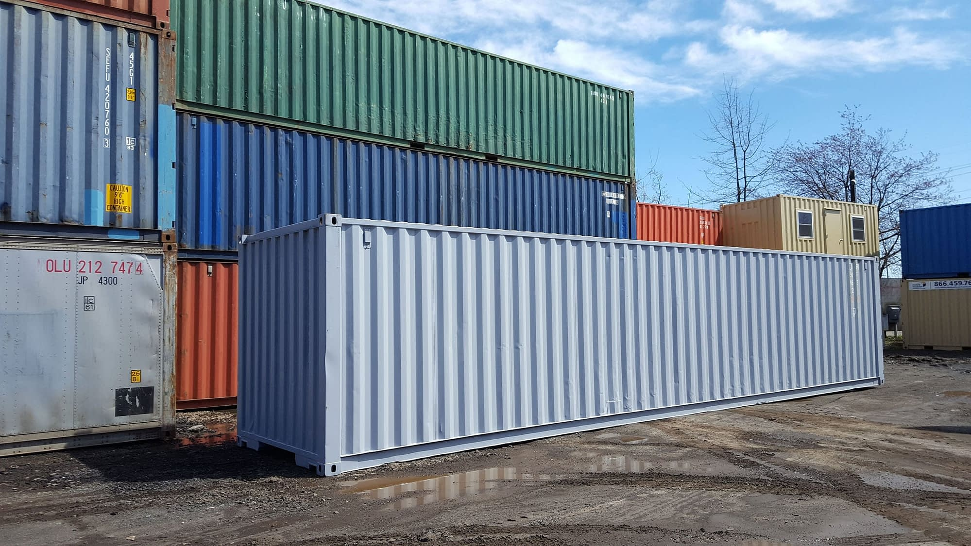 TRS offers flexible terms including painting a 40ft container for a fee