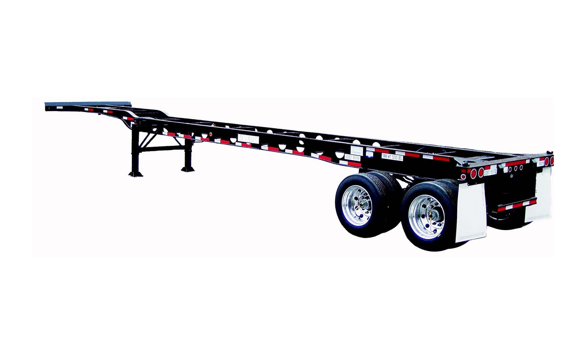 TRS supplies new and used 40ft gooseneck chassis
