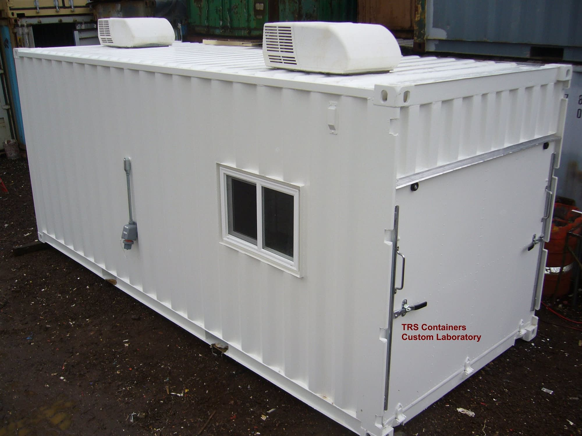 TRS can create a mobile container lab to meet your spec