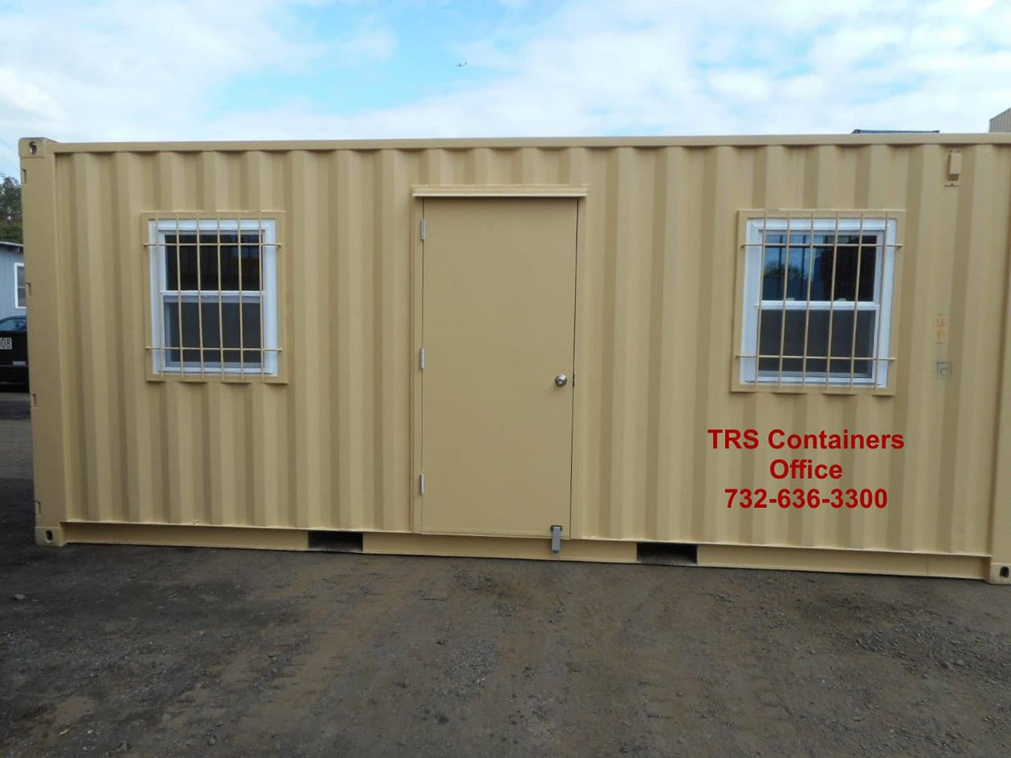 TRS secure portable office space