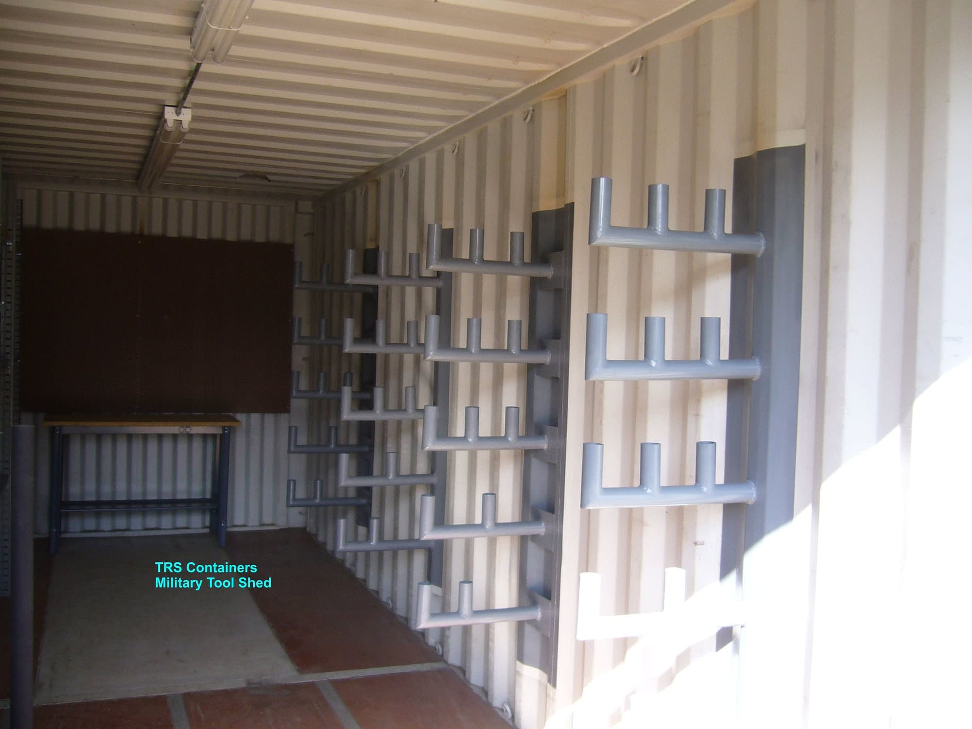 TRS Containers fabricates steel containers for sale