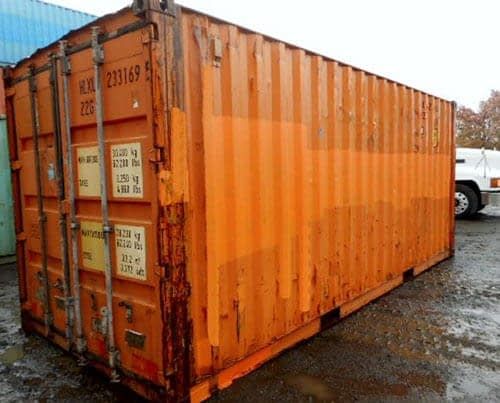 TRS Containser sells and rents different grades of containers at different price points
