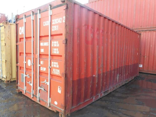 TRS Containers has a 4-acre yard stock with Grades A, B, C and D at different prices points