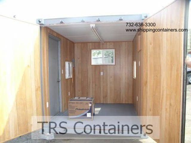 TRS sells and rents fabricated 10ft offices