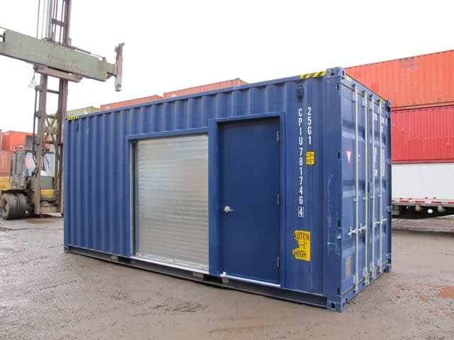 TRS Containers, need additional door access?