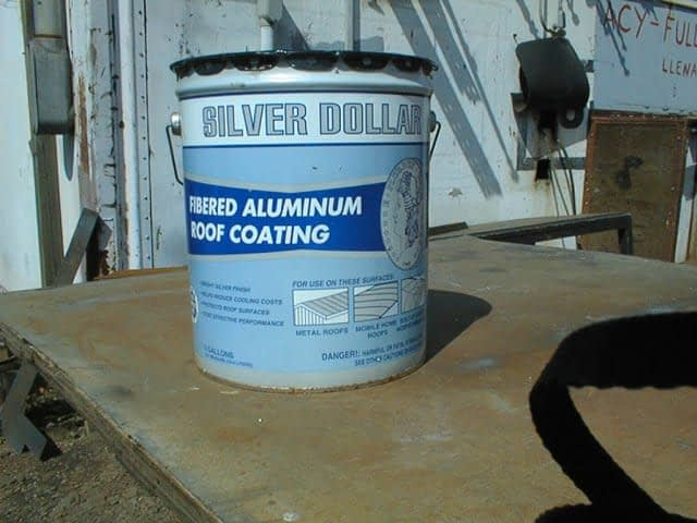 TRS recommends roof coating for protection