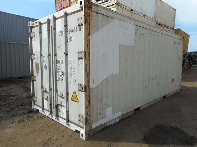 TRS sells and rents refrigeration containers