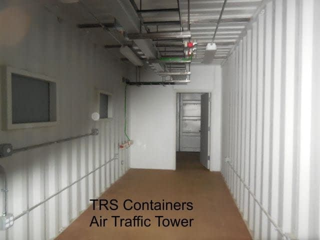 TRS Containers fabricates new and used steel ISO containers for the US Government