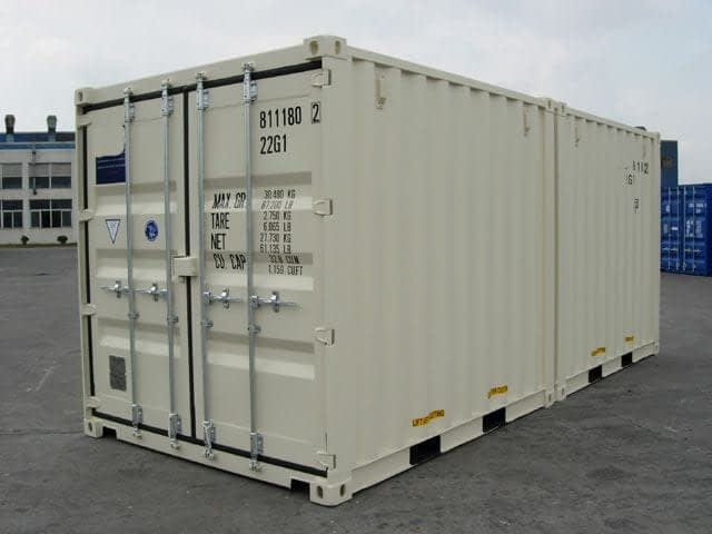 TRS sells DuoCon (10 + 10) shipping containers