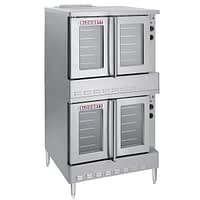 Blodgett SHO-100-E Double Deck Full Size Electric Convection Oven - 220/240V, 3 Phase