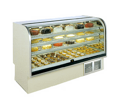 Marc Refrigeration - Display Case, Refrigerated Bakery - 77'