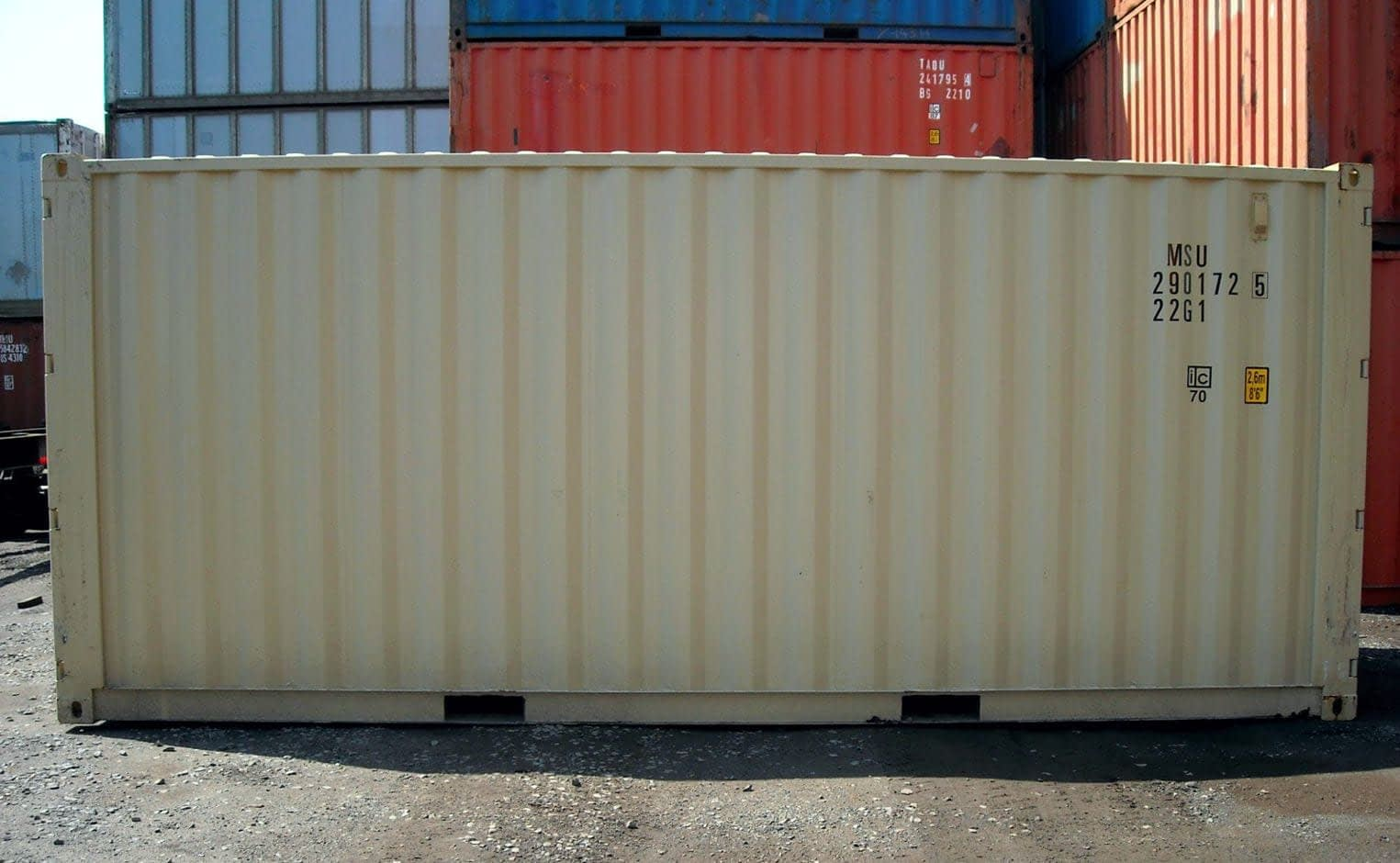 TRS Containers offers new and used fabricated double door containers