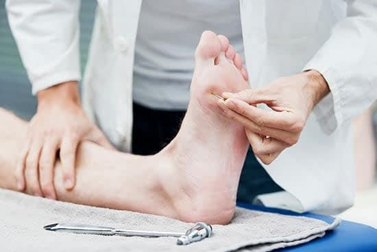 neuropathy of the foot