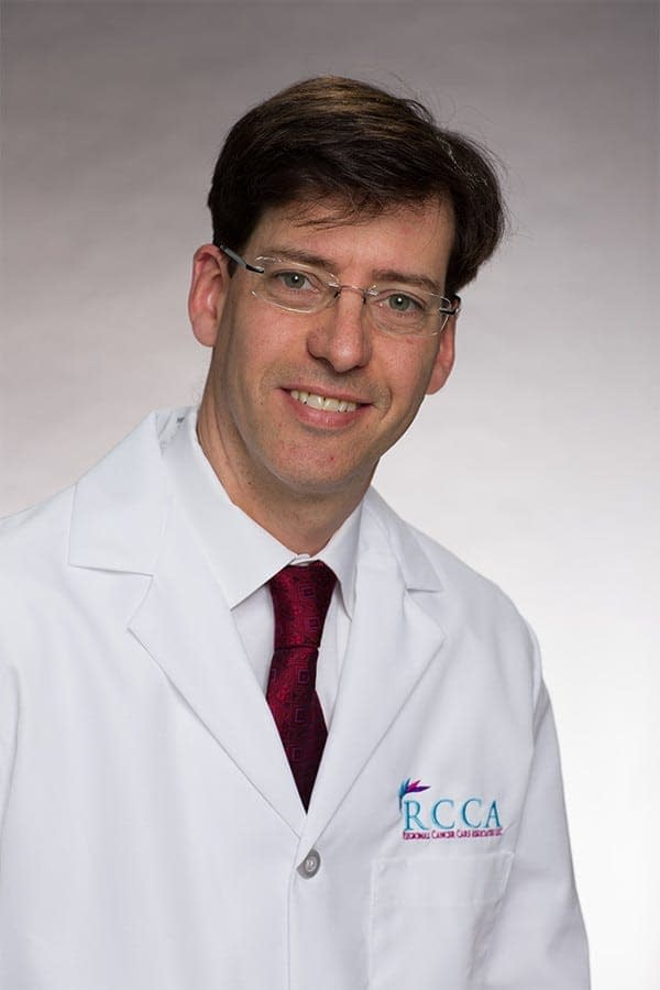 Dr. Bruno Fang, Oncologist and Hematologist at Regional Cancer Care Associates (RCCA).
