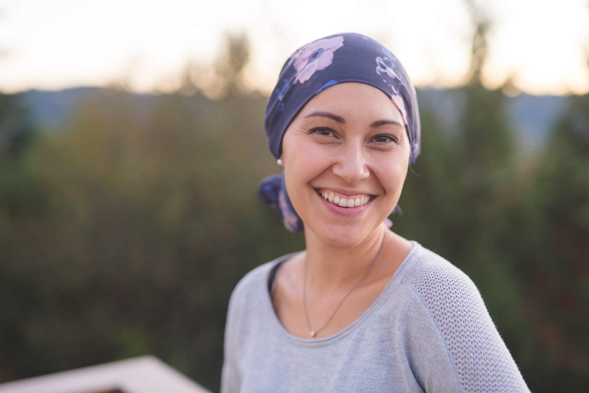 Cancer Patient Smiling