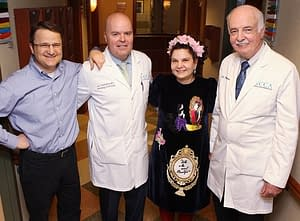 Hopeful news for cancer patients from Iuliana Shapira, MD, RCCA's chief medical officer