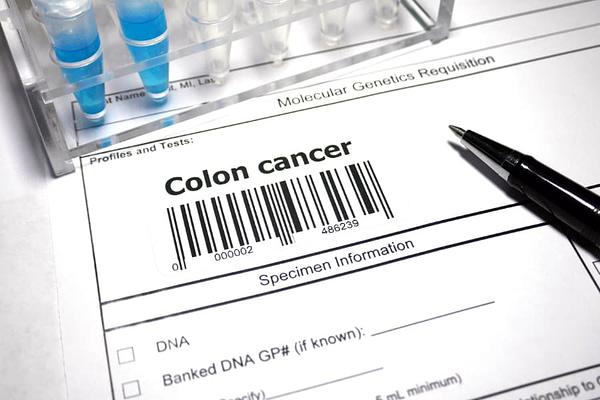 Colon Cancer Testing Form