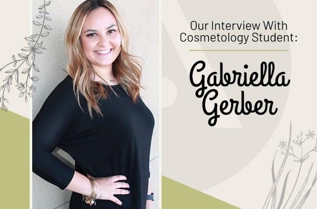 Aveda Institute Las Vegas Cosmetology Student Gabriella Gerber