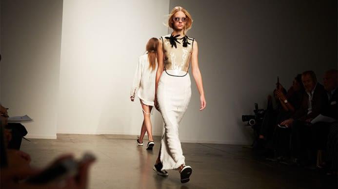 A runway show