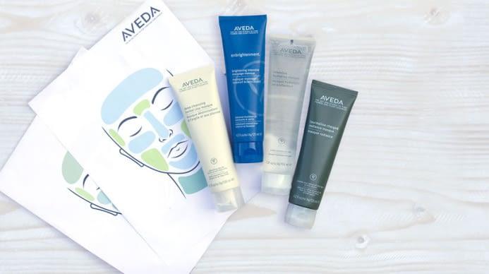 Aveda facial products