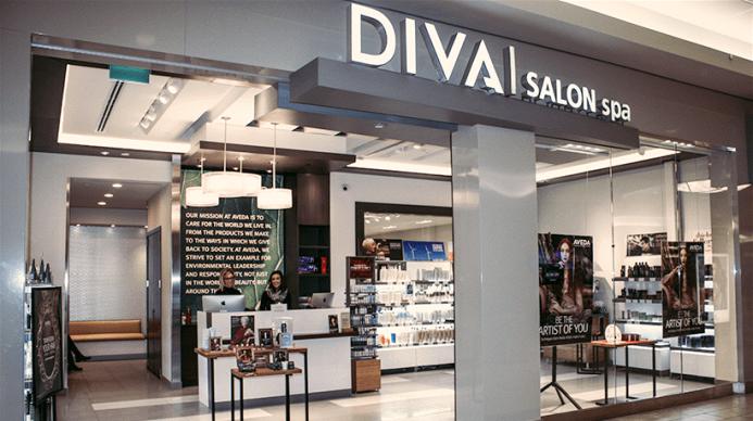 Divai Aveda Salon storefront