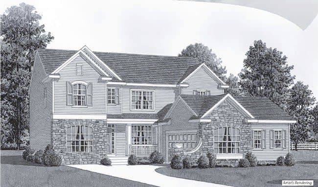 Plan 2 Traditional Classic Home in Easton, PA