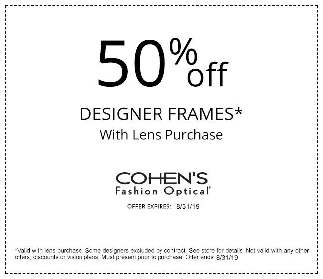 3e9a45bebb12 Largest Selection of Designer Frames | Cohen's Fashion Optical