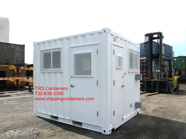 TRS can convert a container into a secure structure