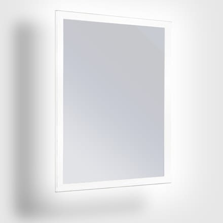 0641 Framless Led Mirror Frosted Border 440x440