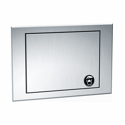 ASI 1003 Counter Top Mounted Waste Receptacle