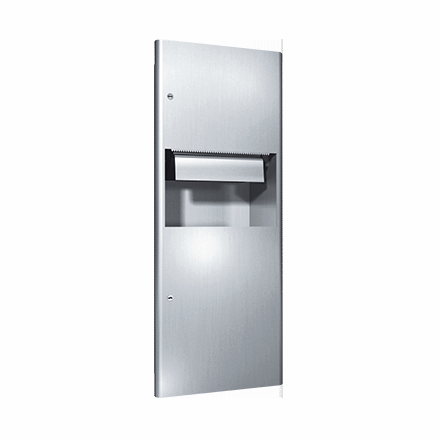 94696A ASI Automatic Roll Paper Towel Dispenser And Waste Receptacle