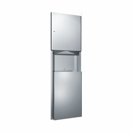 9469 ASI Paper Towel Dispenser And Waste Receptacle