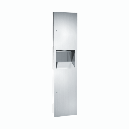 64676 ASI Paper Towel Dispenser and Waste Receptacle